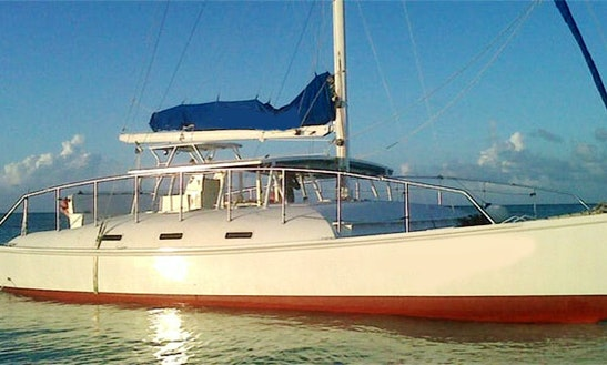 Charter A 52' Cruising Catamaran In Turks & Caicos Islands