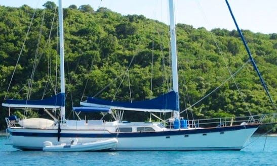 Charter Drumbeat 1 Sailing Yacht In Caribbean