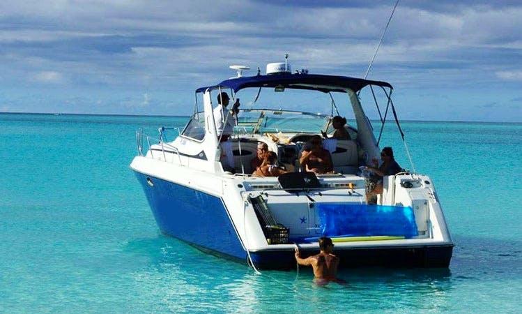 Charter a 42' Motor Yacht in Leeward Settlement, Caicos Islands