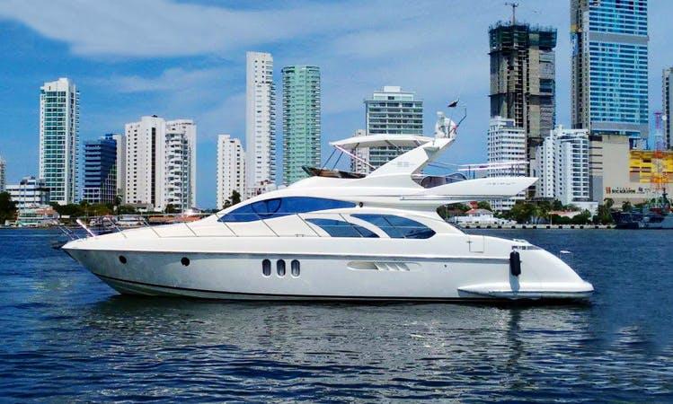 55' Power Mega Yacht Charter in Bolívar, Colombia