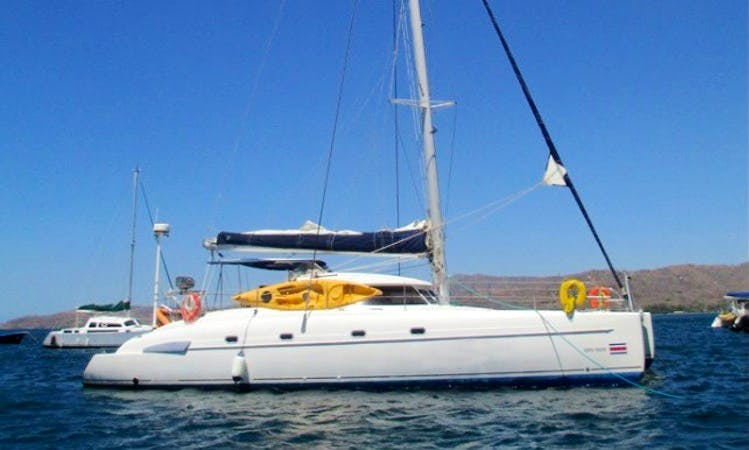 "46ft ""Zafira"" Bahia Cruising Catamaran Rental In Potrero, Costa Rica"