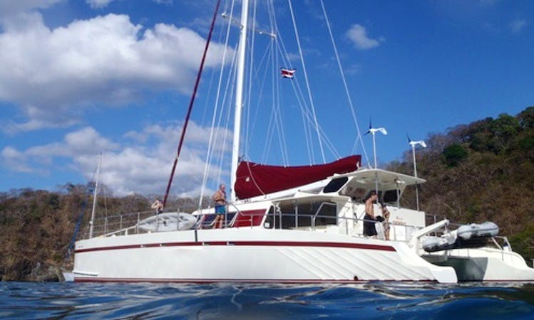 """New Marlin"" 65ft Sailing Catamaran in Playa del Coco"