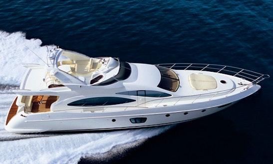 Enjoy Puerto Vallarta On A Power Mega Yacht