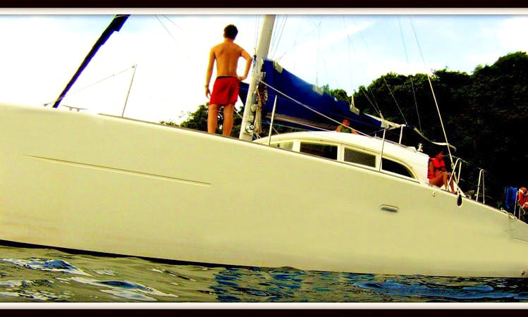 Beach Catamaran Rental in Playa Flamingo (Day Tours Only)