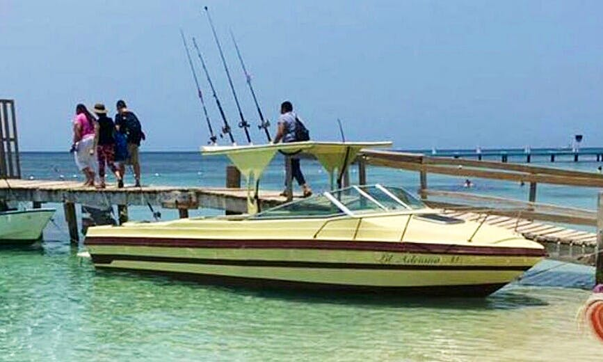 Enjoy Fishing in West End, Honduras on Cuddy Cabin