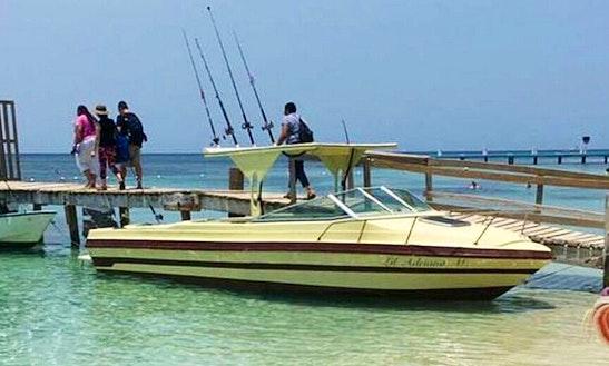 Enjoy Fishing In West End, Honduras On Cuddy Cabin