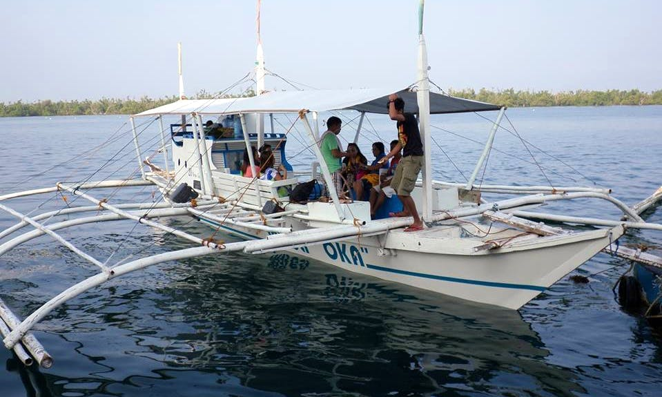 Charter a Traditional Boat in San Francisco, Philippines