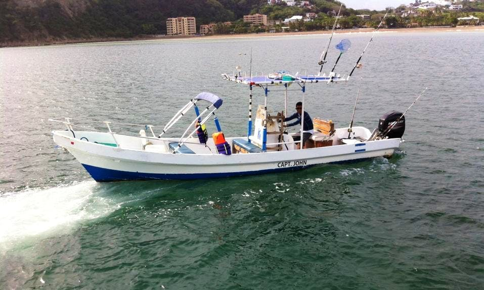 Enjoy Fishing in San Juan del Sur, Nicaragua on Center Console