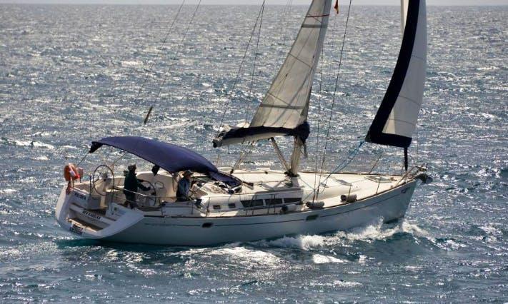 Charter 49' Jeanneau Sun Odyssey Cruising Monohull in Lomo Quiebre, Spain