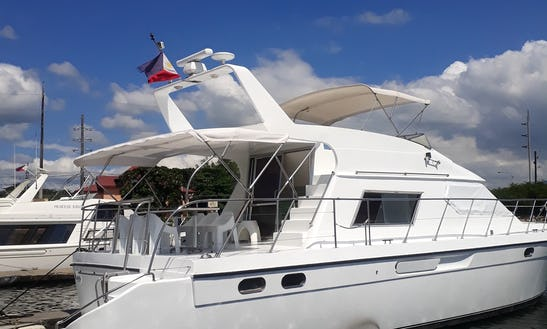Charter A Motor Yacht In Olongapo, Philippines For 25 People