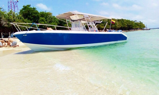 Rent The 28' Intrepid Center Console In Cartagena, Colombia.