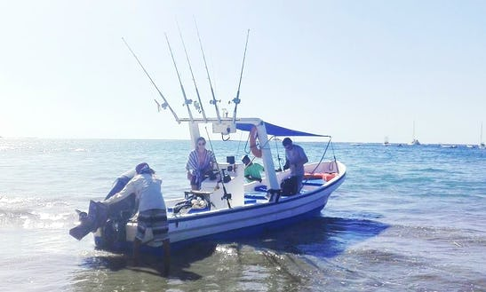 Enjoy Fishing In Tamarindo, Costa Rica On Center Console