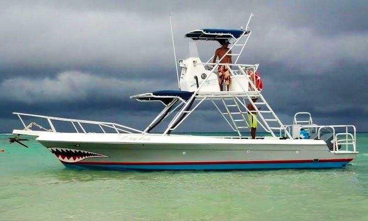 'Shark Boat' Fishing Charter in Quintana Roo