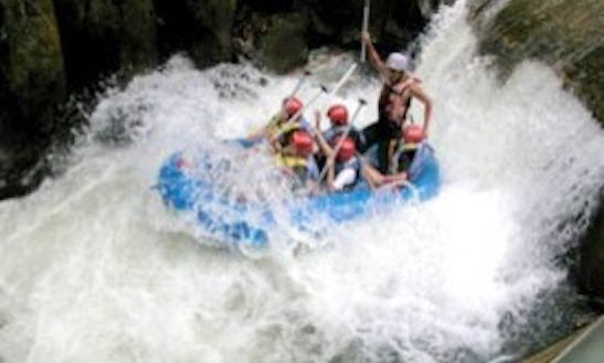 Explore The Telaga Waja River While Rafting In Rendang