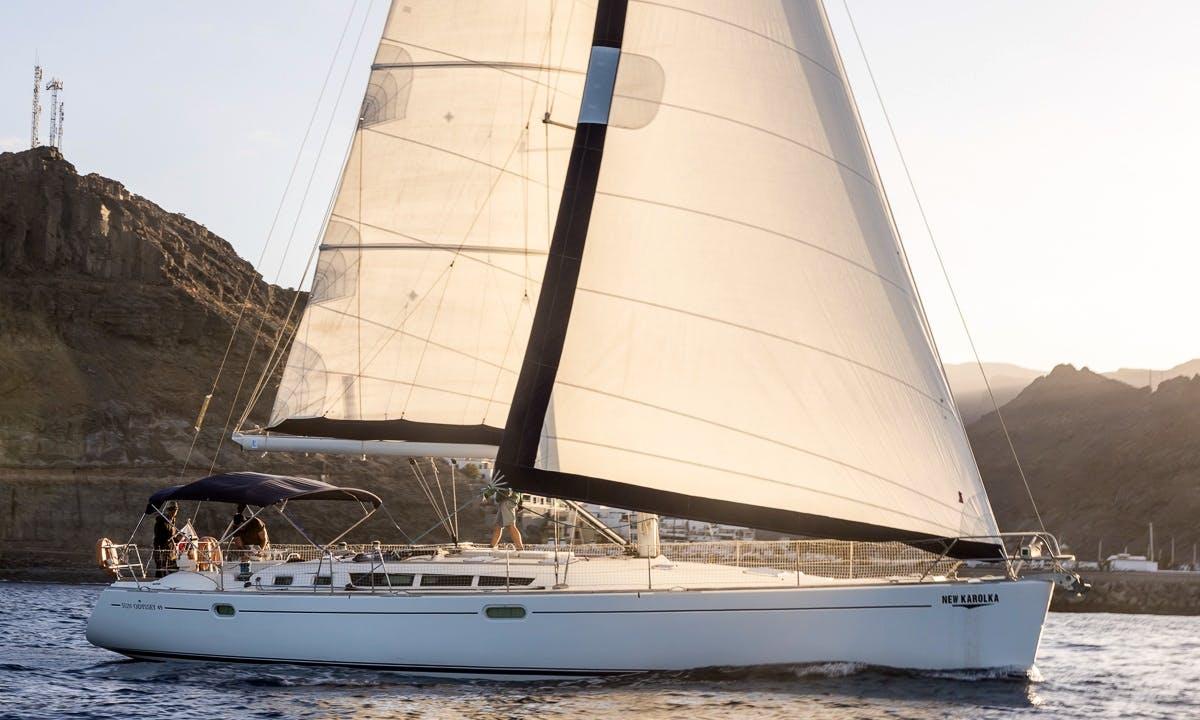 Sailing trip in Puerto de Mogan
