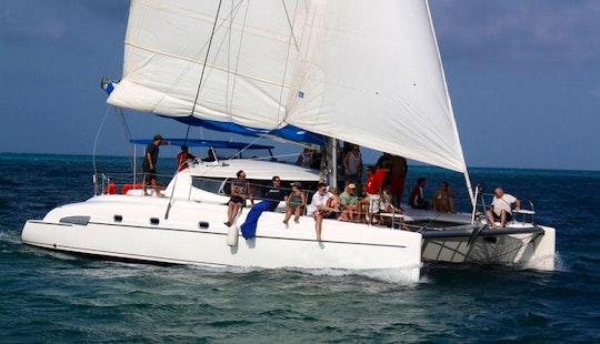 Morrocoy 46' Catamaran Charter In Cancún