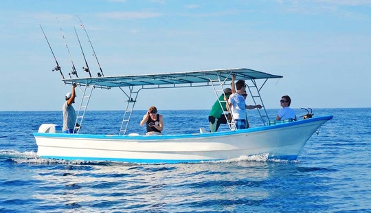 'esmeralda' Boat Fishing Charter  Tours In Playa Malpais