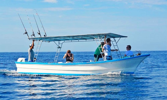 'esmeralda' Boat Fishing Charter  Tours In Playa Malpais