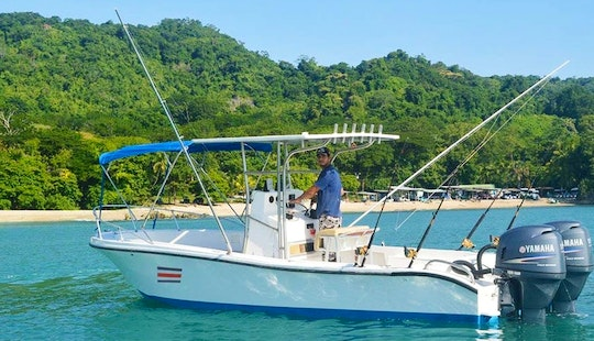 'wahoo' Mako Fishing Charter In Playa Malpais