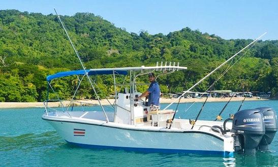 'wahoo' Mako Fishing Charter In Playa Malpais