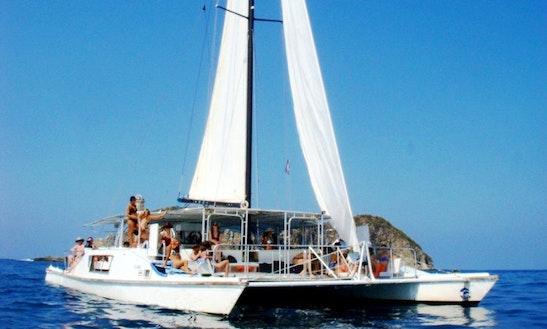 Luxury ''tom Cat' 'cruising Catamaran Charter In Costa Rica