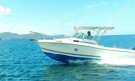 27' Cuddy Cabin Boat For Fishing Charters In Coco, Costa Rica