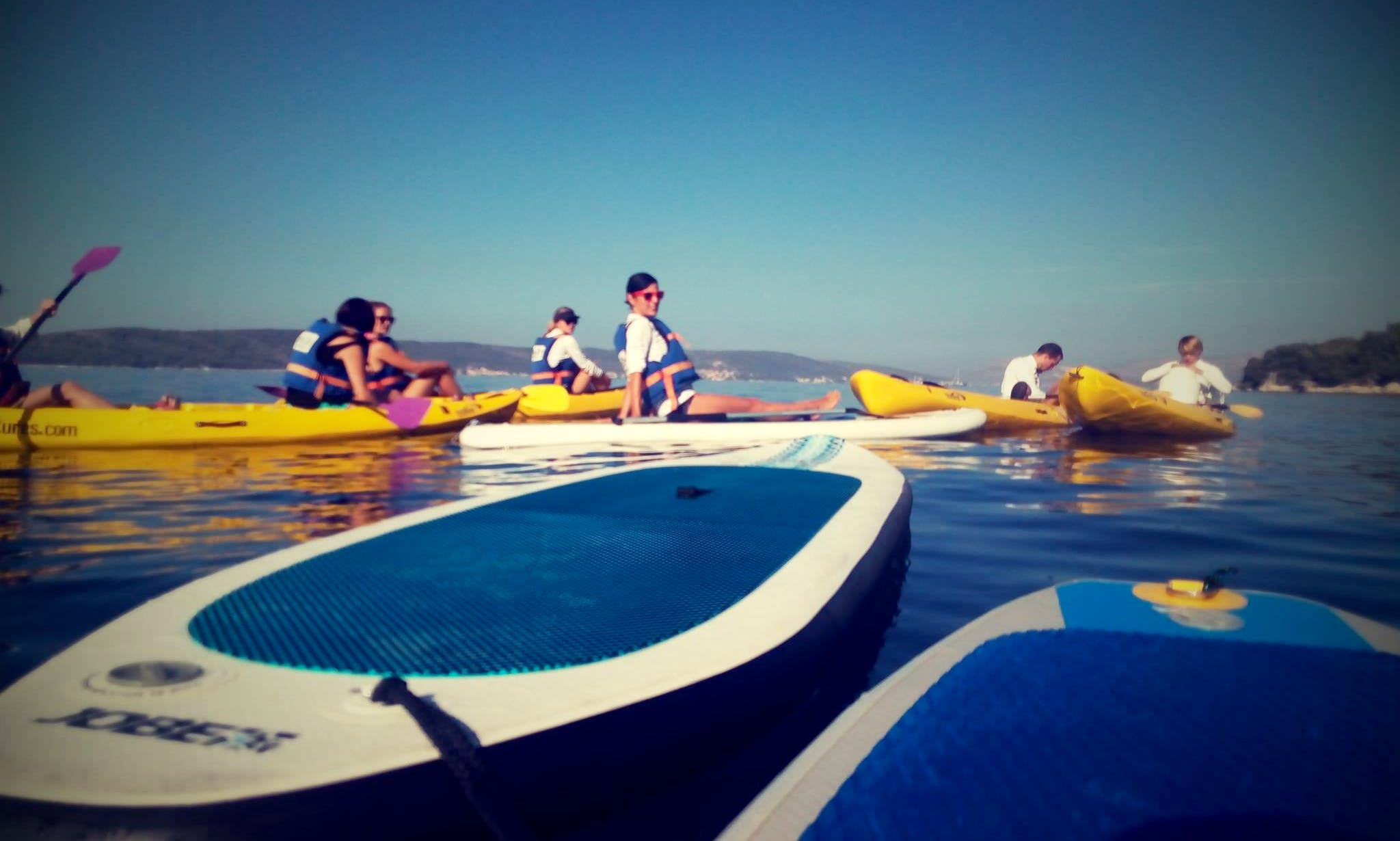 5 Hours SUP Tour and SUP Rental in Kastela and Split area