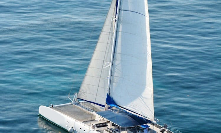 Enjoy 75' Catamaran Charter in Cancún, Quintana Roo