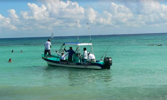 Enjoy Fishing In Cancún, Mexico On A Center Console Charter