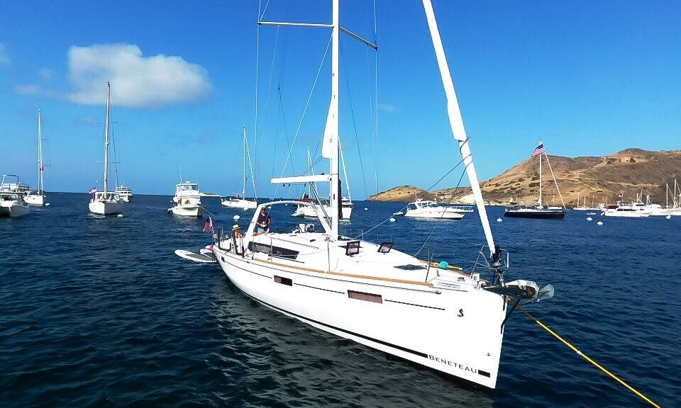 Sailing Charter On 41' Beneteau Cruising Monohull In Newport Beach, California