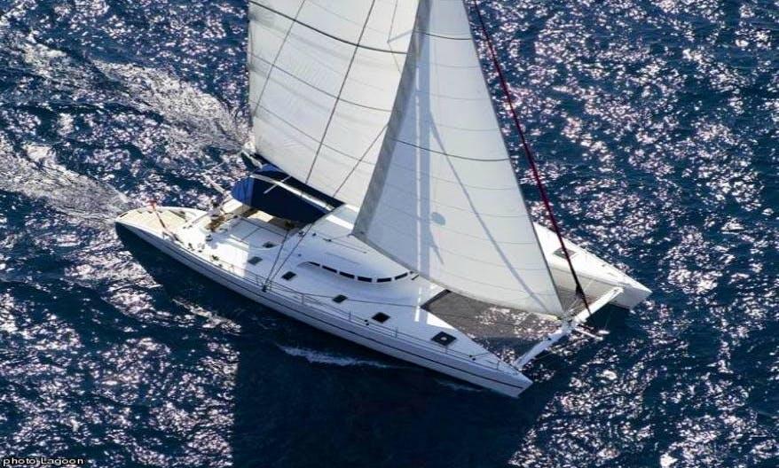 57' Private Luxury Catamaran Charter in US Virgin Islands and British Virgin Islands