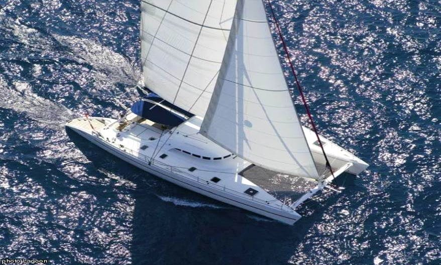 57' Private Luxury Catamaran Charter in US Virgin Islands and British Virgin Islands