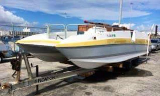 Enjoy Fishing In Nassau, Bahamas On Power Catamaran