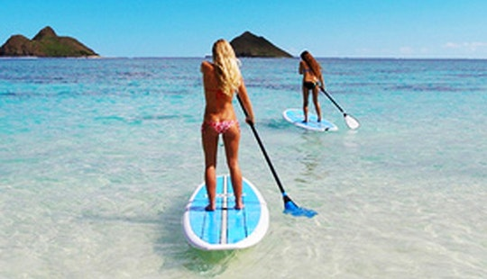 Enjoy Stand Up Paddleboard Rentals In Yeppoon, Australia