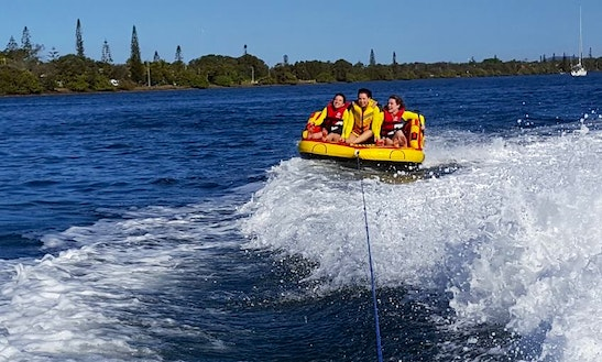 Enjoy Tubing In Indooroopilly, Australia