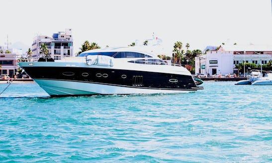 Princess V78'  La Paz Mexico - Luxury Yacht For Cruising The Sea Of Cortez