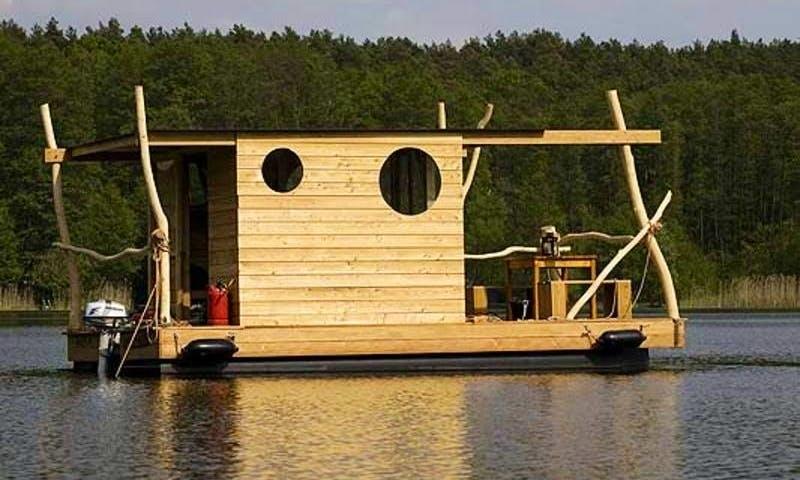 Rent the 4 People Camping Raft Treibgut in Kinrooi, Belgium