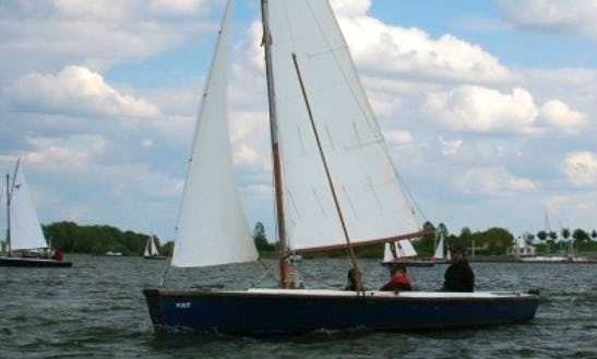 Enjoy Belgian Limburg On The Falcon Open Sailboat With Motor