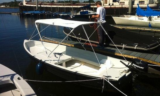 Ride The 13ft Combi Jol Boat Motor Boat In Kinrooi, Belgium