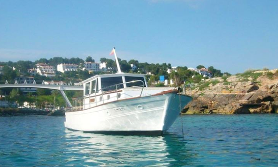 Charter A Motor Yacht In Illes Balears, Spain