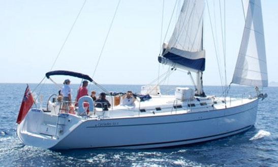 Charter 50' Bénéteau Cyclades Cruising Monohull In Gibraltar