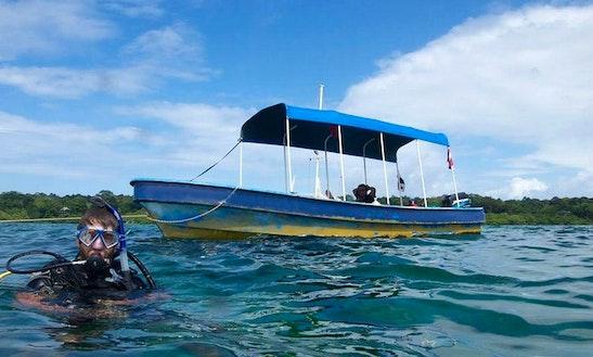 Passenger Boat Diving Charter In Bocas Del Toro, Panama