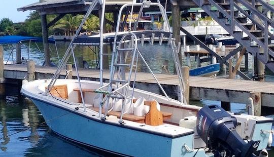25' Mako Dive Boat In Honduras