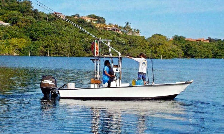 Center Console Rental for Fishing in Playa Flamingo, Costa Rica