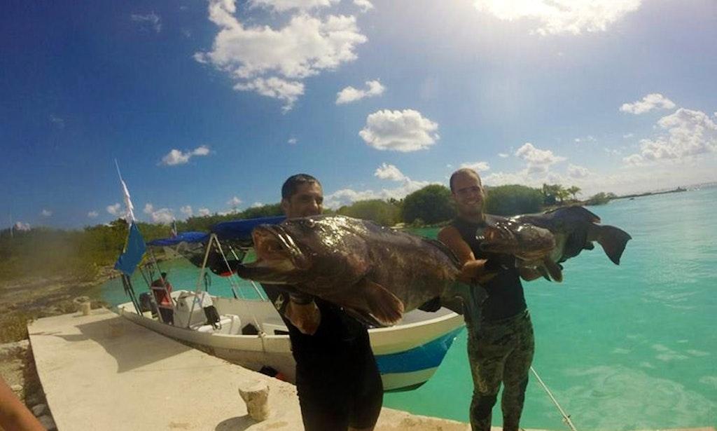 24 39 center console charter in playa del carmen mexico for Playa del carmen fishing charters