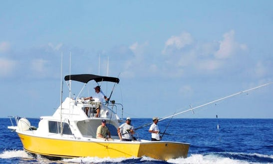 31' Sport Fishing Charter Reel Stripper In Quintana Roo, Mexico