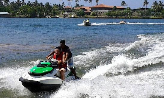 Jet Ski Ride In Aluthgama, Sri Lanka