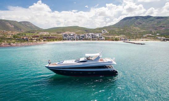 Solange 80'  La Paz Mexico - Luxury Yacht For Cruising The Sea Of Cortez