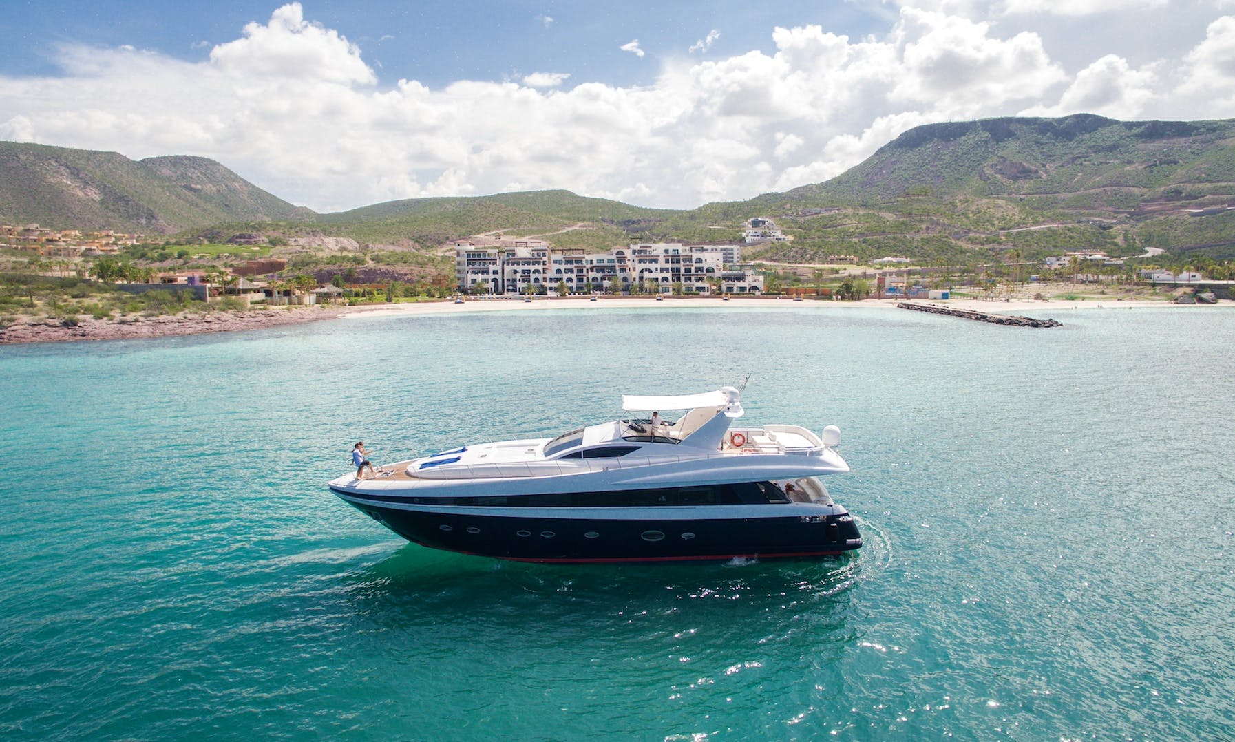 SOLANGE 80'  LA PAZ MEXICO - LUXURY YACHT FOR CRUISING THE SEA OF CORTEZ