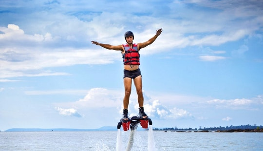 Enjoy Flyboarding In Torrevieja, Spain